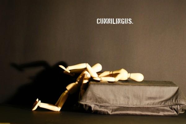 Cunnilingus.