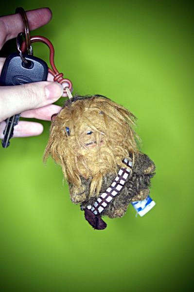 Wookiee-Schlüsselanhänger